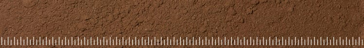 Photo of brown test dust